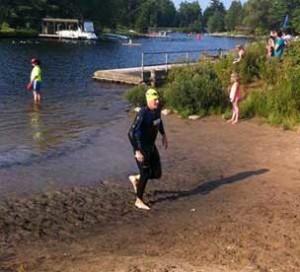 vegan swimming triathlon