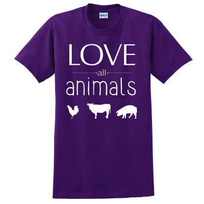 animal rights t shirts
