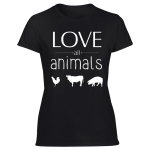 women's animal friendly shirts