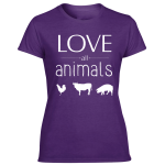 animal friend shirts for women