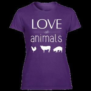 animal friend shirts for women