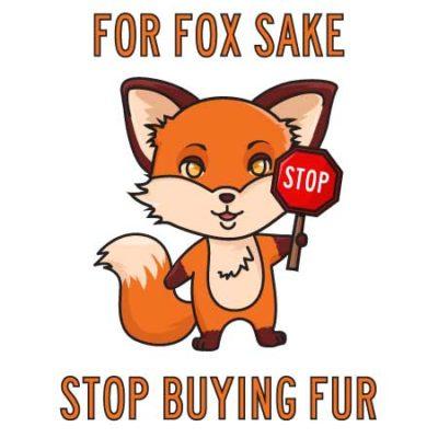 stop buying fur